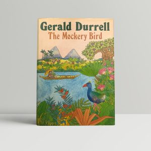gerald durrell the mockery bird signed first edition1