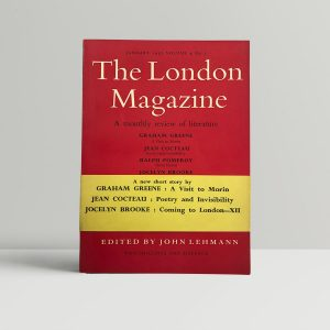 graham greene the london magazine first edition1