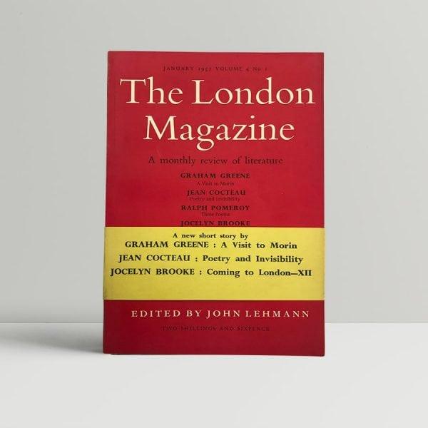 graham greene the london magazine first edition1