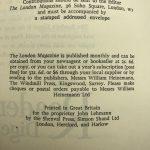 graham greene the london magazine first edition2