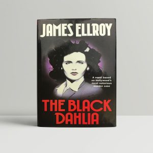 james ellroy the black dahlia signed first edition1