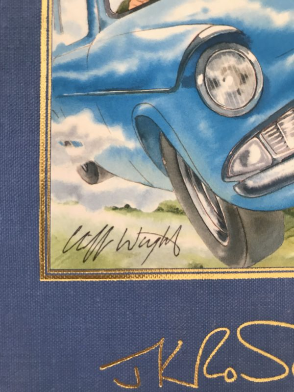 jk rowling harry potter and the chambers of secrets signed by the artist2 600x800 1
