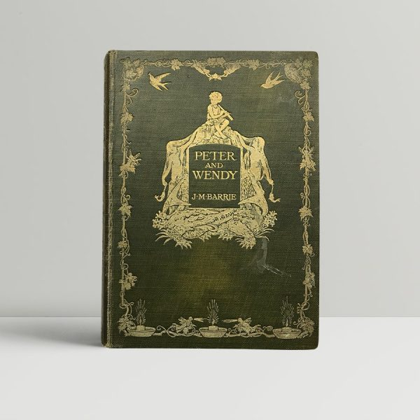 jm barrie peter and wendy first edition1