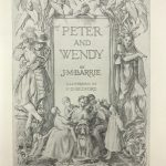 jm barrie peter and wendy first edition2