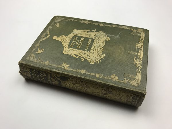 jm barrie peter and wendy first edition3