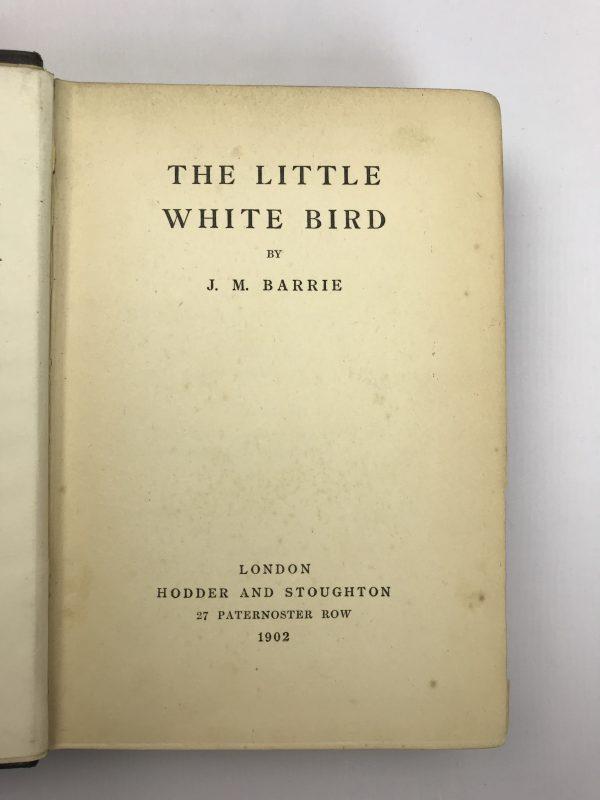 jm barrie the little white bird first edition2