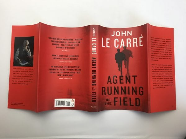 john le carre agent running in the field signed first edition5