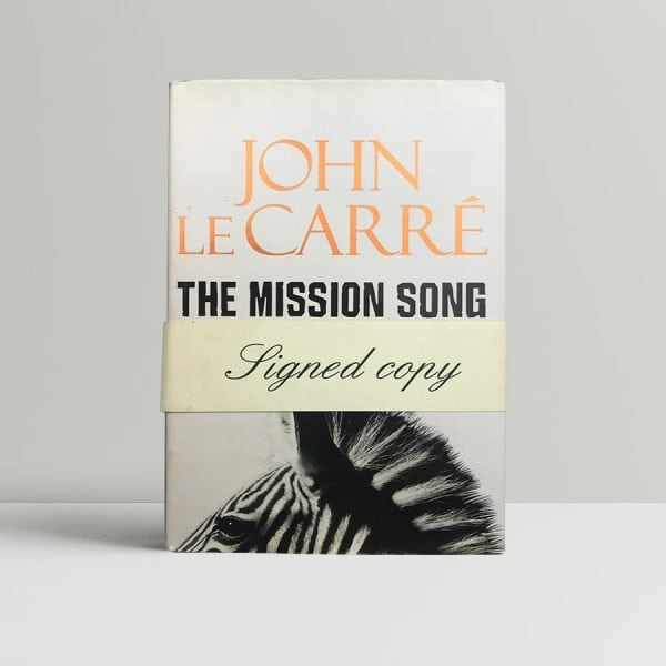 john le carre mission song signed first edition1