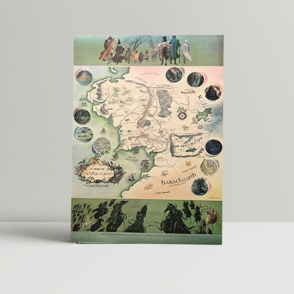 jrr tolkien map of middle earth1