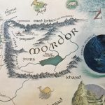 jrr tolkien map of middle earth2