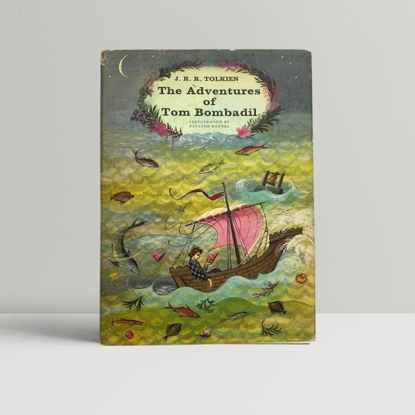 jrr tolkien the adventures of tom bombadil first edition1