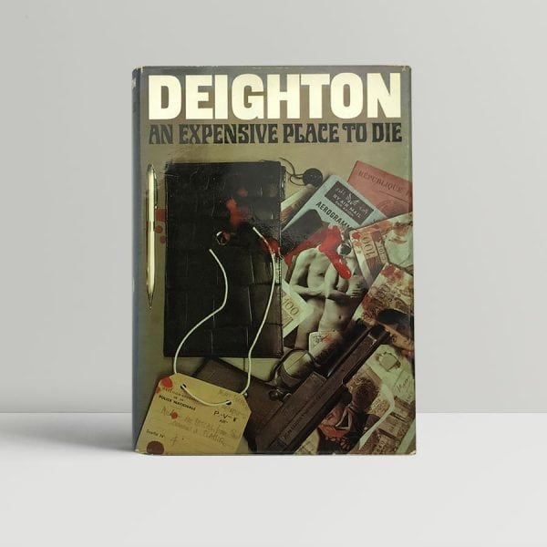 len deighton an expensive place to die first edition1