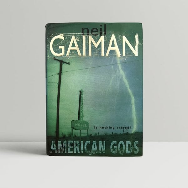 neil gaiman american gods signed first edition1
