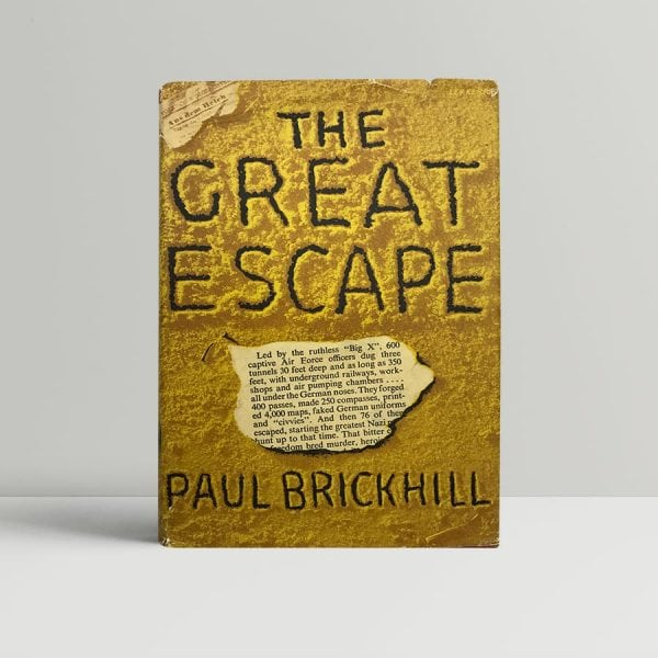 paul brickhill the great escape first edition1