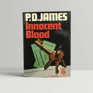 pd james innocent blood signed first edition1