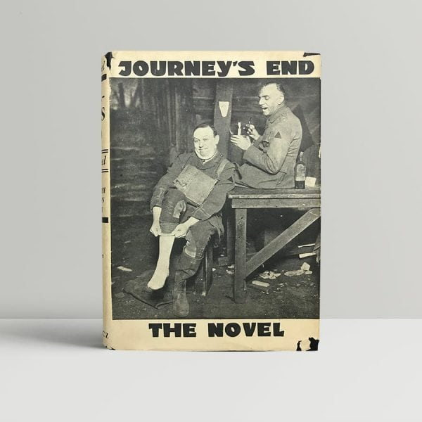 rc sherriff and vernon bartlett journeys end first edition1
