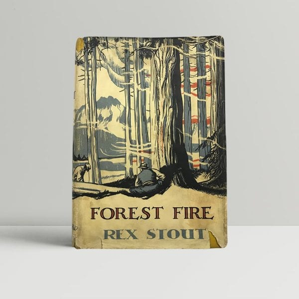 rex stout forest fire first edition1