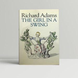 richard adams the girl in the swing signed first edition1