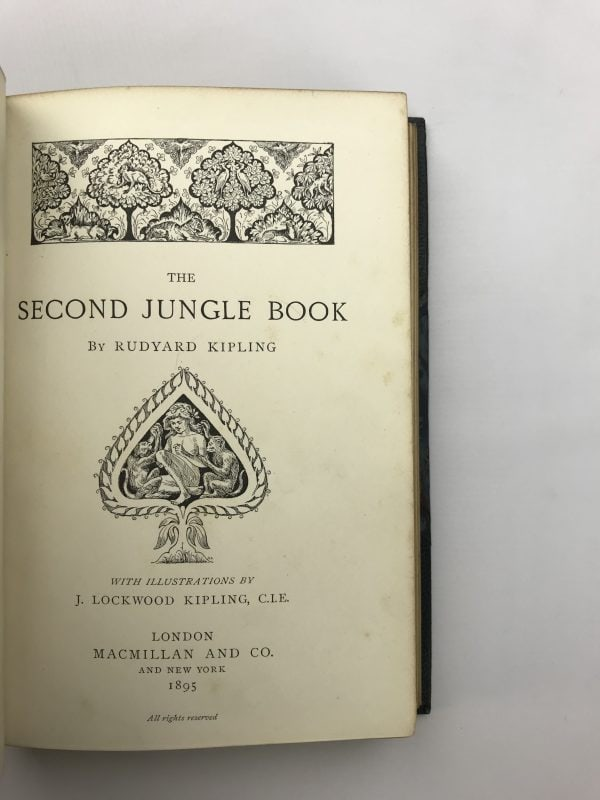 rudyard kipling the second jungle book first edition3