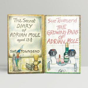 sue townsend adrian mole books first editions1