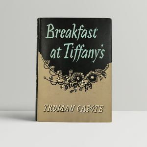 truman capote breakfast at tiffanys first edition1