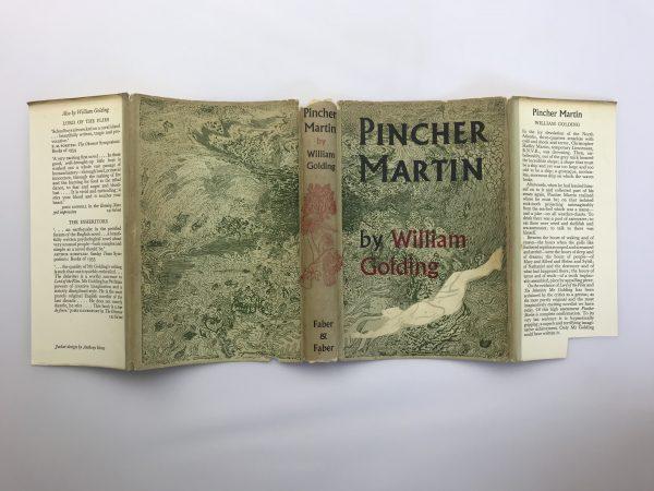 william golding pincher martin first edition4
