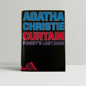 agatha christie a pocket curtain first edition1