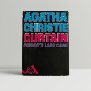 agatha christie curtain first edition1g