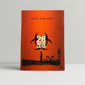 alex garland 28 days later signed first edition1