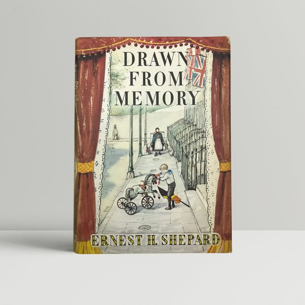 ernest h shepard drawn from memory signed first edition1