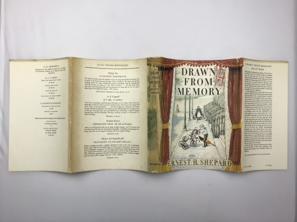 ernest h shepard drawn from memory signed first edition5