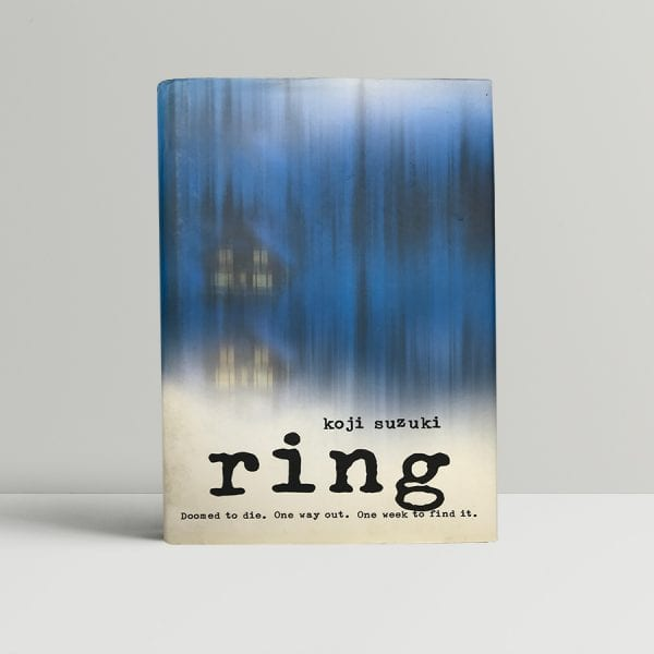 koji suzuki the ring signed first edition1