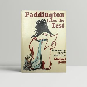michael bond paddington takes the test signed first edition1