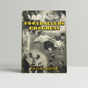 raich carter footballers progress signed first edition1