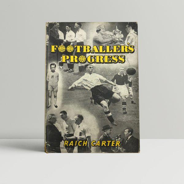 raich carter footballers progress signed first edition1