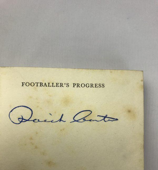 raich carter footballers progress signed first edition2