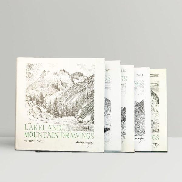 wainwright lakeland mountain drawings 1