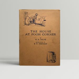 aa milne the house on pooh corner first ed1