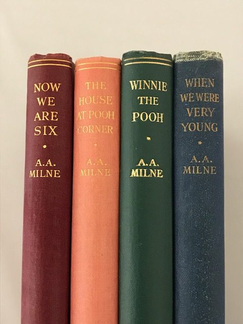 aa milne whinnie the pooh complete set5