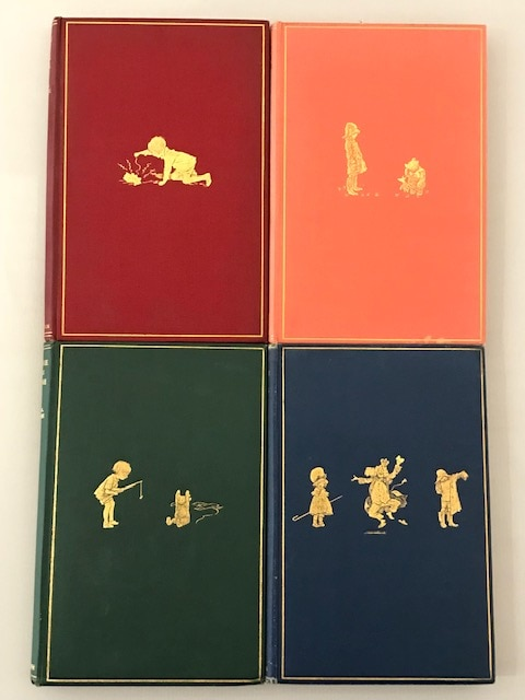 aa milne whinnie the pooh complete set6