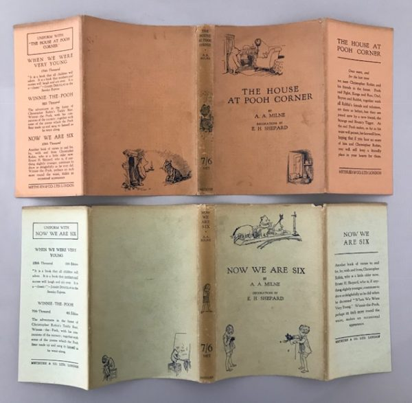 aa milne whinnie the pooh complete set7
