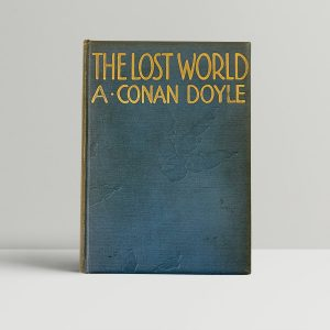 arthur conan doyle the lost world first edition1