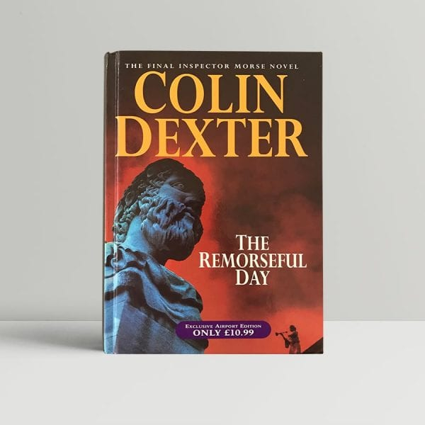 colin dexter the remorseful day signed first edition1