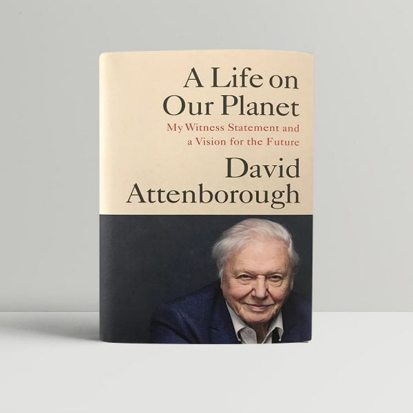 david attenborough a life on our planet signed first edition1