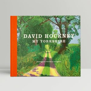 david hockney my yorkshire first edition1