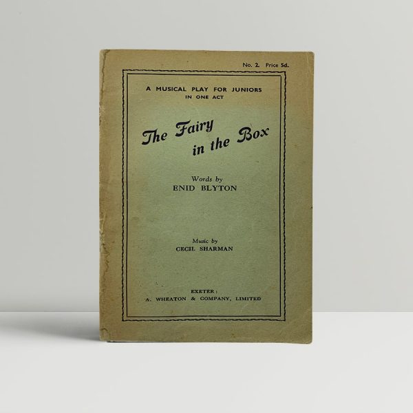 enid blyton the fairy in the box first edition1