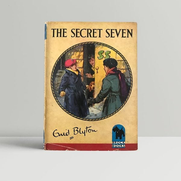 enid blyton the secret seven first edition1