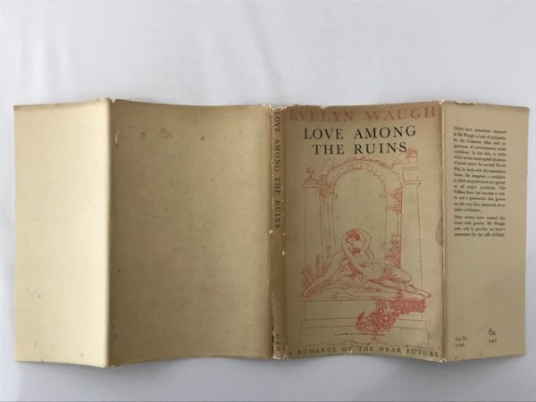 evelyn waugh love among the ruins first edition2