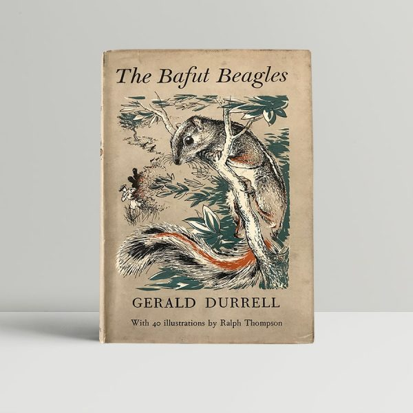 geral durrell the bafut beagles signed first edition1