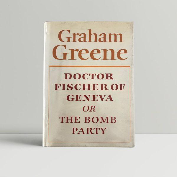 graham greene doctor fischer of geneva first edition1